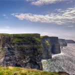The staggering Cliffs of Moher in Ireland