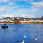 The Claddagh in Galway, Ireland during summertime