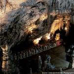 Train through the Postojna Cave, Slovenia