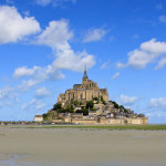 navigating the tides on the ancient pilgrim path to Mont Saint Michel – France