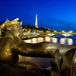 taking a romantic walk along the Seine in Paris – France